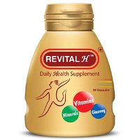 Ranbaxy Revital, Unflavoured 60 capsules