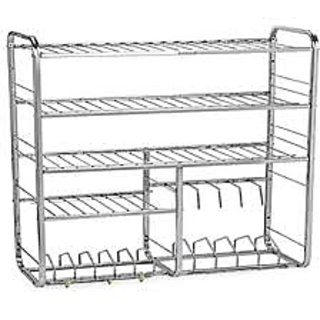 Bartan stand price at flipkart snapdeal ebay amazon for Kitchen set bartan