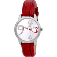 Fogg 3009-SL-MEHROON Analog womens watch