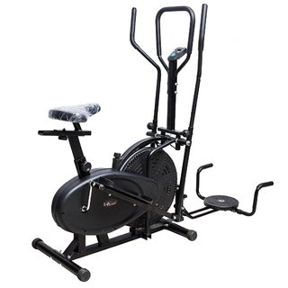 Lifeline Orbitrack Bike Exercise Cycle Dual Handles Home Gym+W Band available at ShopClues for Rs.8860