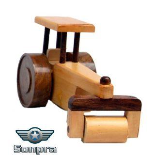 Sonpra Wooden Toy - Antique Handicraft BD Road Roller