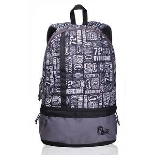 F Gear Burner P8 White Backpack