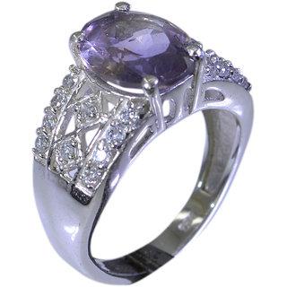 Riyo Amethyst Silver Online Jewellery Buy Silver Ring Sz 5 Srame5-2001