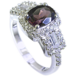 Riyo Tourmaline Childrens Silver Jewellery Posie Ring Sz 7 Srtou7-84095