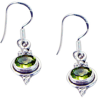 Riyo Peridot Modern Silver Jewellery Uk Gems L 1in Seper-58022