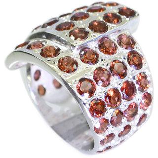 Riyo Garnet Wholesale Silver Uk Jaipur Jewellery Sz 7 Srgar7-26076