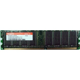 Hynix 1GB DDR1 400Mhz 1year warranty(For Desktop)