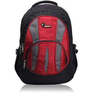 F Gear Adios Black Red Backpack