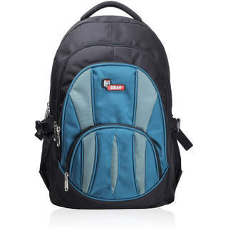 F Gear Adios Black Aqua Blue Backpack