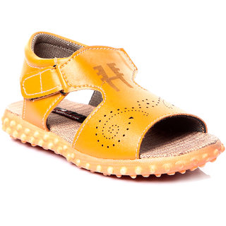 Trilokani Best Designer Kids Sandals (TFC15_BEIGE)