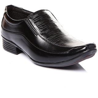 Trilokani Stylish Formal Kids Shoes (TFC10BLACK)