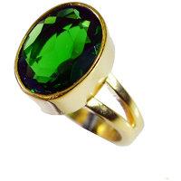 Riyo Emerald Cz Jewellery Gold Plated Nice Ring Sz 6 Gpremcz6-96067