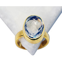 Riyo Green Amethyst Gold Plated Jewellery Nice Ring Sz 6 Gprgam6-28031