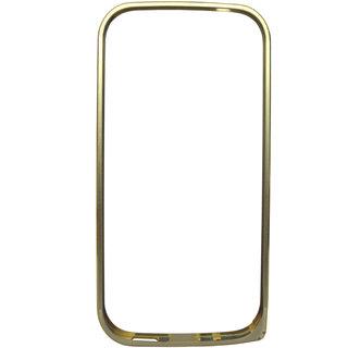 TOTTA Dual Tone Designer Bumper Case For HTC Desire 816 Dual SIM -GOLD
