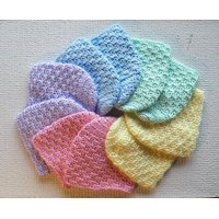 Bornbaby Woolen Caps (Set Of 10)