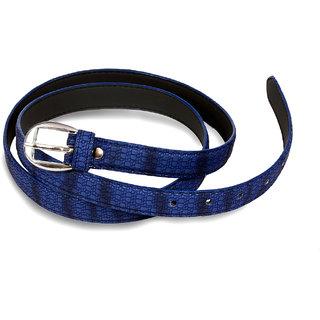 Women drak blue belt