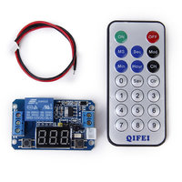 Multifunctional Programmable Timer Relay Control Module with Remote Control
