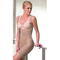 Beige Body Shaper / Tummy Tucker With Removable Straps