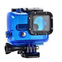 45M Waterproof Replacement Housing Protective Case For Gopro Hero 3 3+ Blue