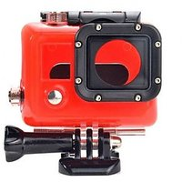 45M Waterproof Replacement Housing Protective Case For Gopro Hero 3 3+ Red