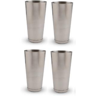Set of 4 classy mocktail / lassi glasses Large