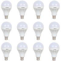 Flat 75% Off On LED Lights By Shopclues | Frazzer 12 W LED BULB ( Combo pack of 12) @ Rs.499