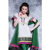 Designer Ready To Wear Cotton Salwar Suit Kr60
