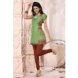 Designer Ready To Wear Cotton Kurti Kr63