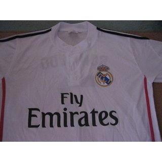 GARETH BALE NO 11 REAL MADRID FOOTBALL HOME JERSEY