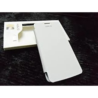 xolo q700 flip cover white available at ShopClues for Rs.149
