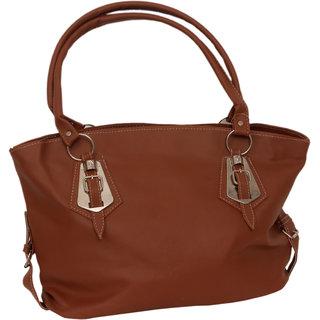 Trendy Smooth Leather Handbag By Greek Sojourn