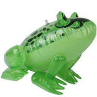 Inflatable Frog Kids Party Favors Pool Beach Toy Blow Up