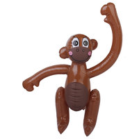 Inflatable Monkey Zoo Animal Kids Party Favors Pool Beach Toy Blow Up