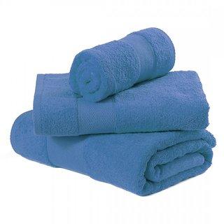 bath towel blue buy bpitch 3pcs bath towel blue online at best prices