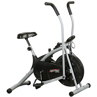 branded Dual Functional Air Bike Exercise Bike. (Body Gym)