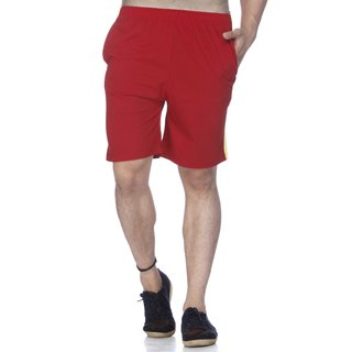 Demokrazy Red Shorts For Men One Pcs 22114
