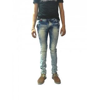Cotton blended Skinny fit jeans
