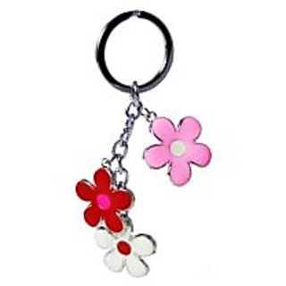 Beautiful Flower Shaped Funky Key Ring/ Key Chain