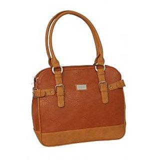 Elegant Rust Brown Stylish Women Handbag By Greek Sojourn