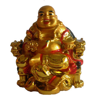 Feng Shui Laughing Buddha Happy Man for Happiness and Wealth Gift Item