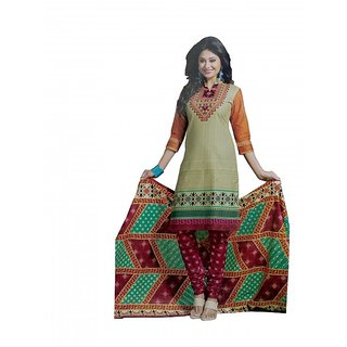 richa cotton drees material (S1037)