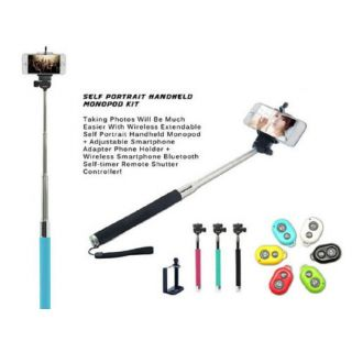 Selfi Stick for IOS and Android phones with Bluetooth Remote