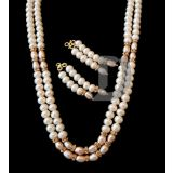 Shine Pearl Necklace Set