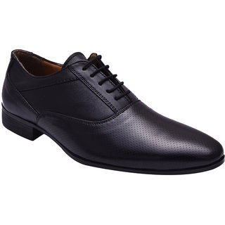 Hirels Black Oxford Shoes