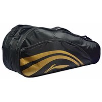 Li-Ning 2-in-1 Thermal Racket Bag(Double Belt) Black at Lowest price