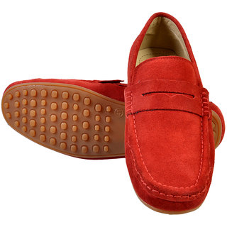 Hirels Red Loafers