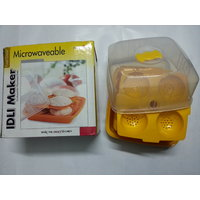 Oil & Fat Free 12 Pcs Microwaveable Idli Maker Cookware Microwave Oven