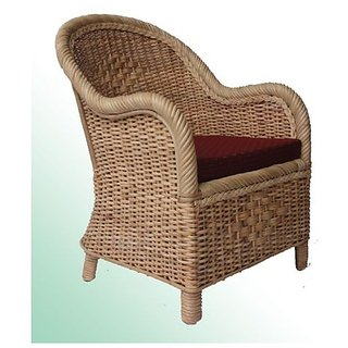 Rattan Cane Chair  Living Room Furniture  Lawn Chair