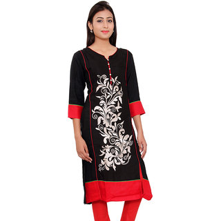 Being Diva Designer Rayon Kurti