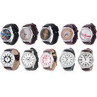Combo Of 10 Elegent Analog Watches